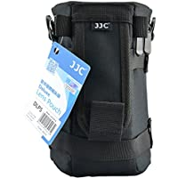 JJC DLP-5 Deluxe Lens Pouch for Lenses with diameter and height below 113 x 215mm - Canon EF 70-200mm EF 28-300mm EF 70-300mm Nikon Nikkor 70-200mm Nikkor 80-200mm