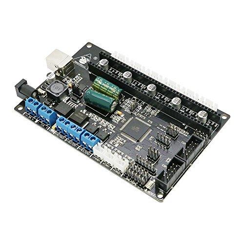 ANYCUBIC TriGorilla Integrated Main Board Compatible Mega2560 & RAMPS1.4 Combo Control Board 4 Layers PCB Controller Board for RepRap Mendel Prusa I3