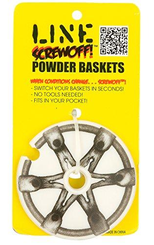 UPC 886745357353, Line Screwoff Powder Ski Pole Basket-1 Pair Sz 90mm