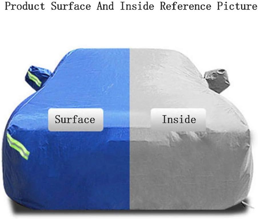 Land Rover Evoque B/âche de protection solaire anti-gel pour voiture r/ésistante /à leau 4355*1900*1635MM E