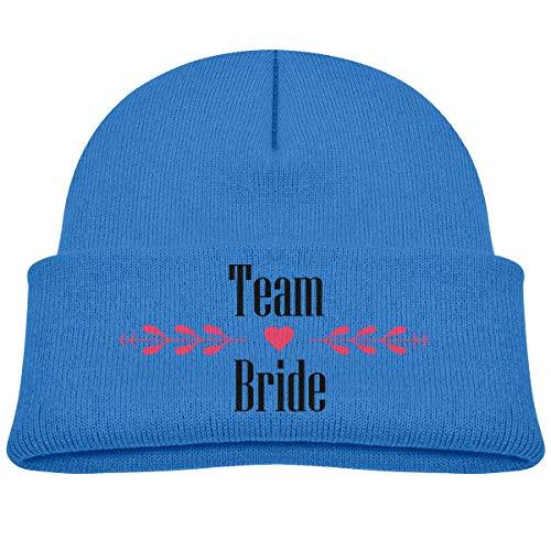 (Banana King Team Bride Baby Beanie Hat Toddler Winter Warm Knit Woolen Watch Cap for Kids )