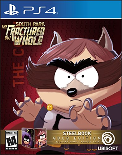 South Park: The Fractured But Whole SteelBook Gold Edition (Includes Season Pass subscription) - PlayStation 4 (South Park The Stick Of Truth Cost)
