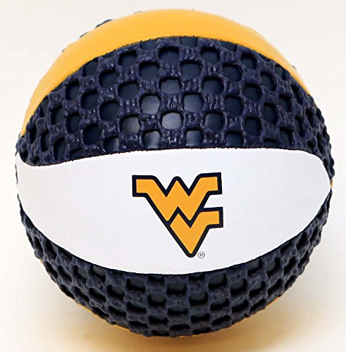 West Virginia Mountaineers Fun Gripper 5.5 Mini Basketball NCAA