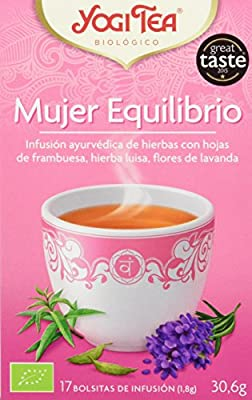 Yogi Tea Mujer Equilibrio - Paquete de 6 x 17 Sobres - Total: 102 Sobres
