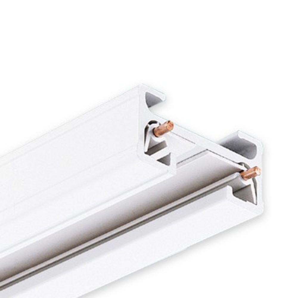sc 1 st  Amazon.com & Juno 4u0027 White Track - Track Lighting Rails - Amazon.com