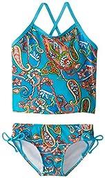 Kanu Surf Little Girls\' Toddler Caroline Tankini Swimsuit, Blue, 4T