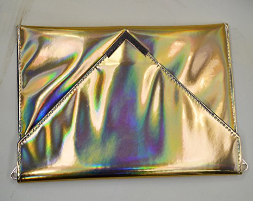 Women Bag Sling Holographic Editha Glitter Drawstring body Bag Cross 167 Satchel Mini Bag Golden qwHwARd