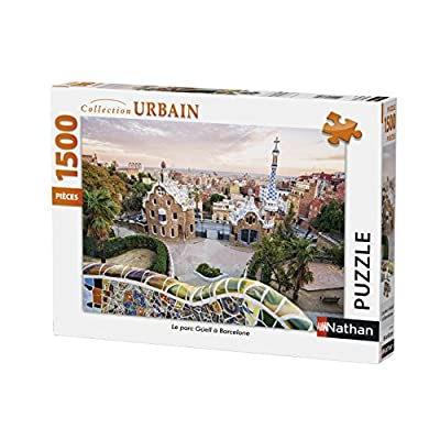 Nathan Puzzle Parco Gell Barcellona 1500 Pezzi 87789