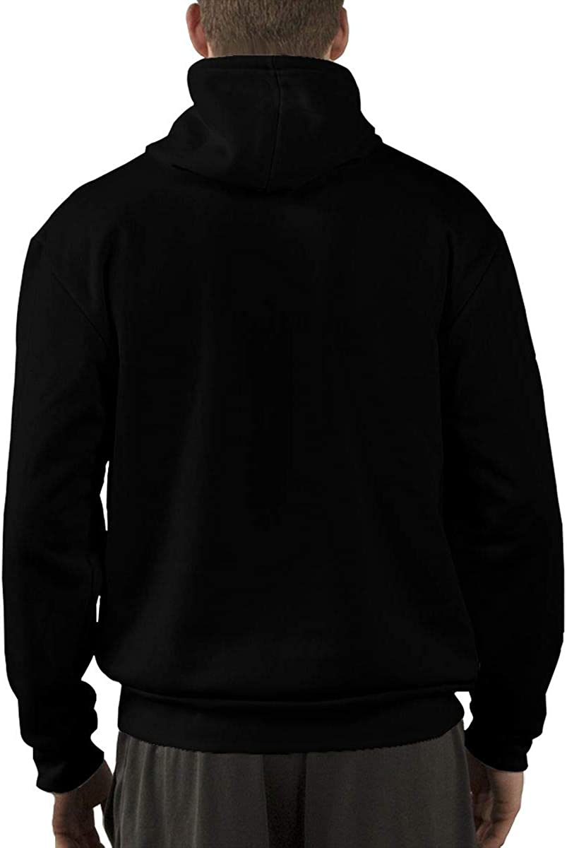 VANMASS Mens Lightsaber Rainbow Long Sleeve Pullover Hoodie Sweatshirt