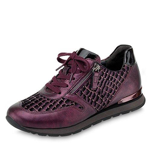 Ville Femme Metallic Gabor de pour Bordeaux à Lacets Chaussures Y8qSwqPE