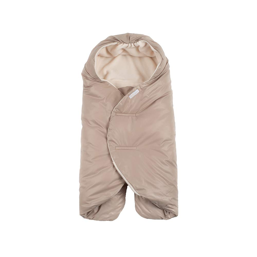 7 A.M. Enfant Nido Quilted (Beige, Small)