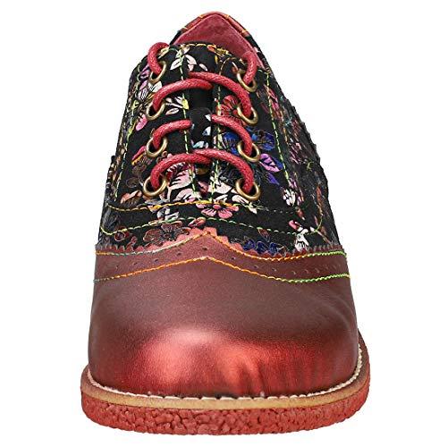 Rouge Cordones Para Coralie Zapatos 03 Mujer Vita Laura de Rouge Oxford Rojo 6wT7ZnvwXx