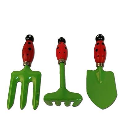 ZJROYAL Garden Tool Sets Kids Garden Hand Tools Set Childrenu0027s Gardening  Set Gardening Tools Best For
