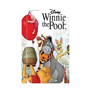 iPhone 5,5S Case, DDdiy Winnie the Pooh Custom 3D Case for iPhone 5,5S