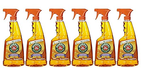 Murphy Oil Multi-use Wood Cleaner Spray With Orange Oil 22 Oz Pack of 6