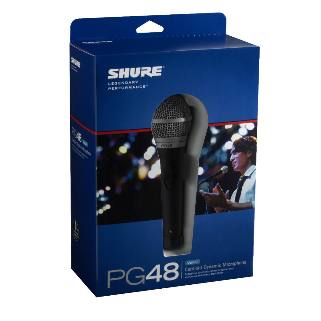Amazon.com: Shure PG48-LC Vocal Dynamic Microphone, Cardioid: Musical