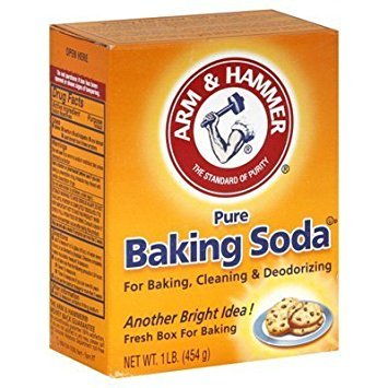 Arm & Hammer Baking Soda, Pure 16 Ounces (Pack of 4)