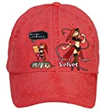Nusajj Odin Sphere Leifdrasir Velvet Unstructured 100% Cotton Hats Design for Men Red One Size