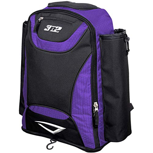 (3N2 Revo Baseball Bat Pack, Purple)