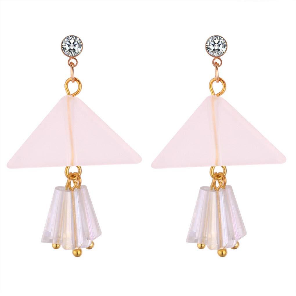 Temperament Diamond Full Diamond Ball Long Earrings Vintage Personality Handmade Earrings