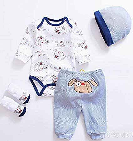 Reborn Doll Baby Boy Clothes Clothing for 20/'/'-22/'/' bebe newborn baby clothing