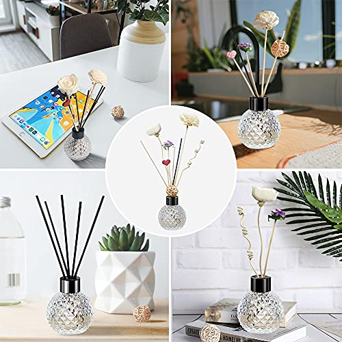 Kedoxi Reed Diffuser Sticks, Diffusers Sticks Set Gift for Christmas, Birthday, Housewarming, Family, Lover and Decorate Home, Office, Aromatherapy Oil Diffuser Gift Set of 14
