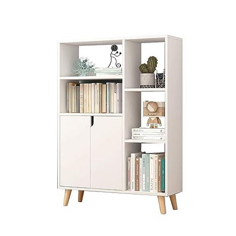 Amazon.com: Bookcases Bookcase Floor Rack Living Room ...