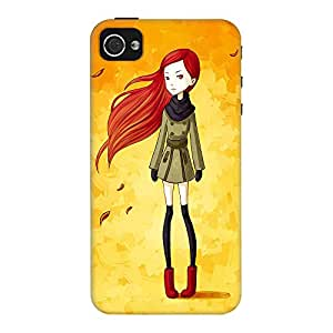 DailyObjects Autumn Breeze Case For iPhone 4/4S