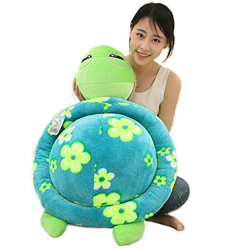 Mlotus Creative New Decorative Pillow Cute Tortoise Doll Plush Stuffed Toys (Tortoise Decorative Pillow)