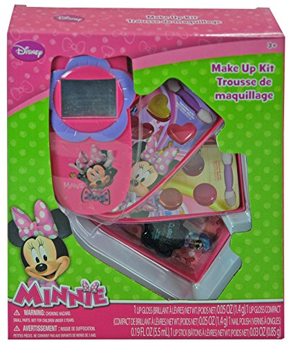 Disney Minnie Mouse Bowtique Makeup Gift Set in Slide Out Phone (Makeup For Minnie Mouse Costume)