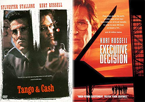 Buckle Up Cupcakes- Prime Time ACTION/ Kurt Russell Double DVD pack: Tango & Cash + Executive Decision (Buckle Up Cupcakes)