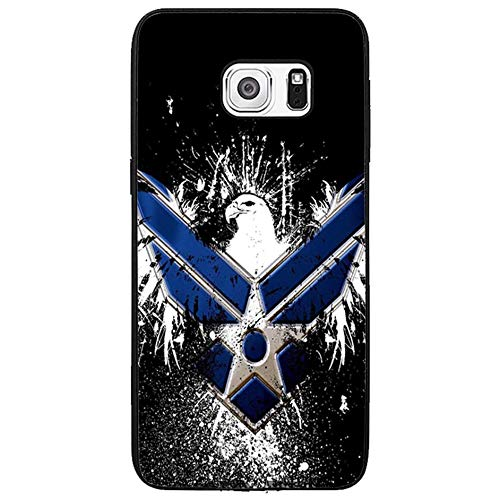 Skinsends Cool US Air Force Eagle Phone case Compatible with Galaxy s6 Edge Plus, Hard Plastic Cell Phone CASE Cover Compatible with Samsung Galaxy s6 Edge Plus]()