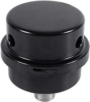 16mm Schwarz Luftfilter Filter Schalldämpfer Schalldämpfer Luftkompressor  TP/_Z8