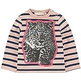 Stella McCartney Kids Striped Leopard Print T-shirt 382626 (9 Months)