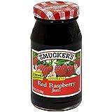 Smucker's Red Raspberry Seedless Jam - 12 oz
