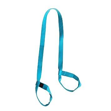 Dpolrs Cinturón Ajustable Yoga Mat Sling algodón Correa de ...