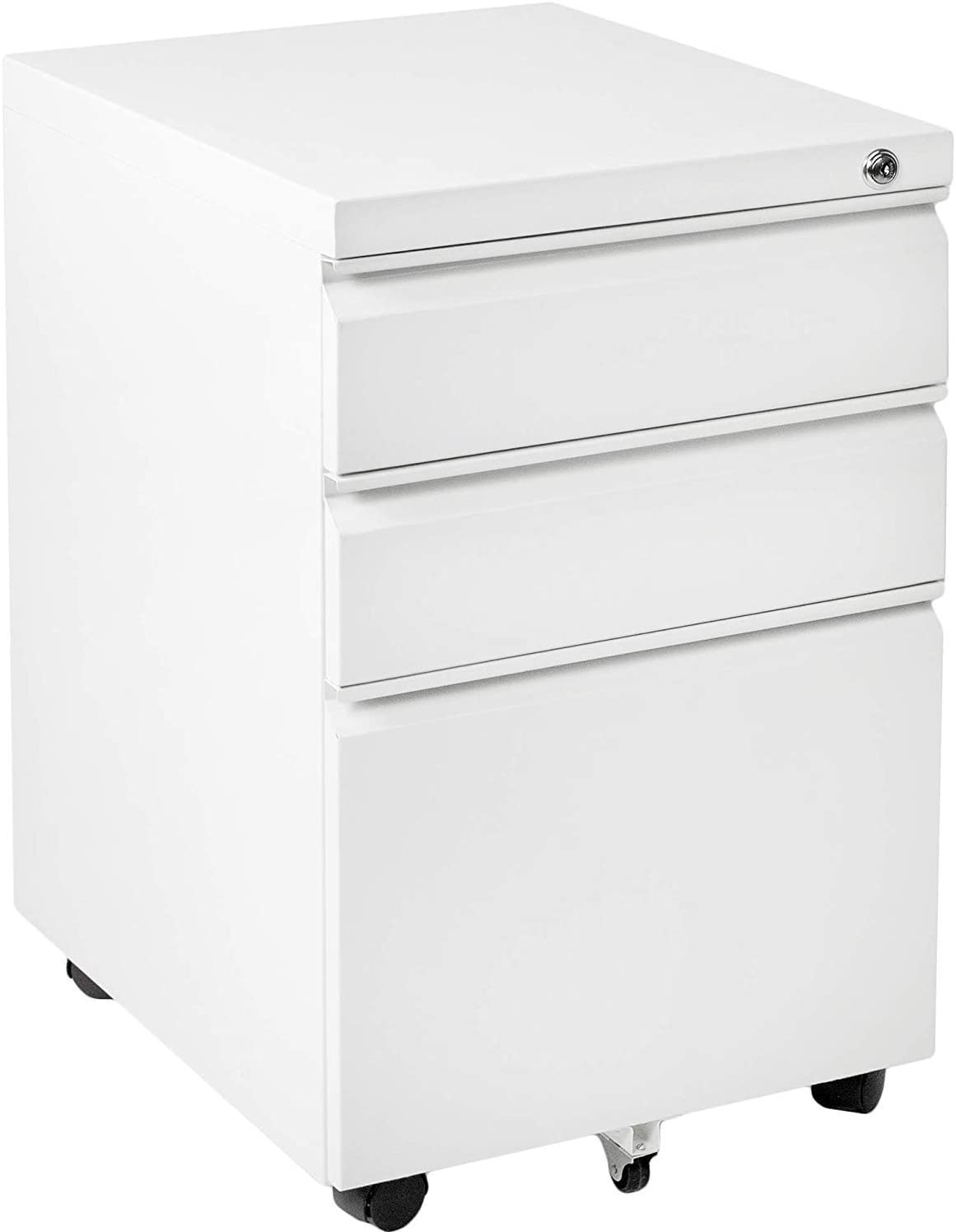 Amazon Com Invie 3 Drawer Fille Cabinet Mobile File Cabinet With