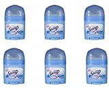 Secret Invisible Solid Antiperspirant and Deodorant, Powder Fresh, 0.5 Ounce Travel Size (Pack of 6)