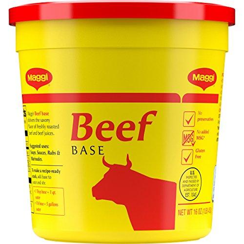 Maggi Beef Base No Added Msg Gluten Free, 1 Pound