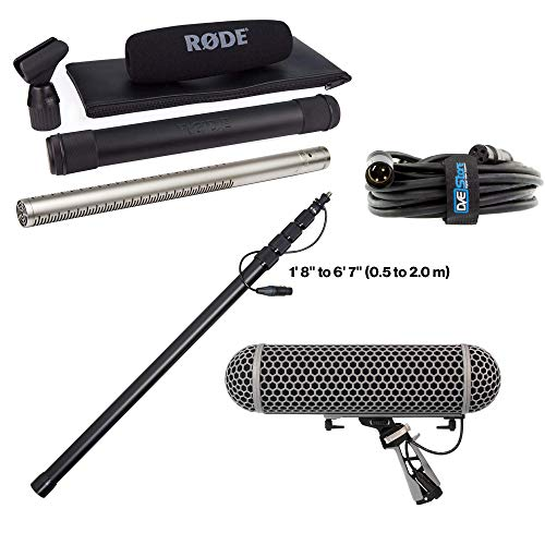Rode NTG-3 Precision Broadcast Grade Cardioid Microphone w/Booming Sound KIT