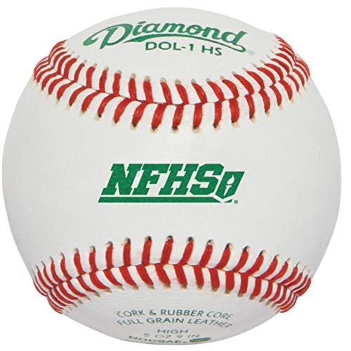 Diamond DOL-1 NFHS Baseballs Official League (3)