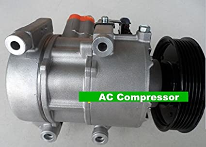 GOWE Auto aire acondicionado Compresor para Kia Sorento 2.4L de 6pk, 125 mm,
