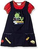 Bonnie Jean Toddler Girls' Little Appliqued Dress, Bookworm, 2T
