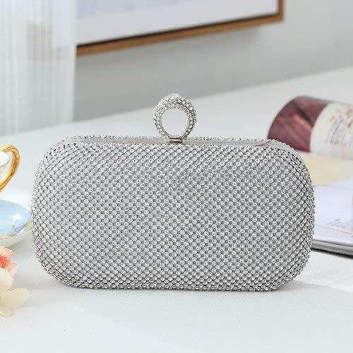 (Gold Clutch Rhinestone Handbags | Diamond Evening Bag | Bling Purses | Clutch Wallet)
