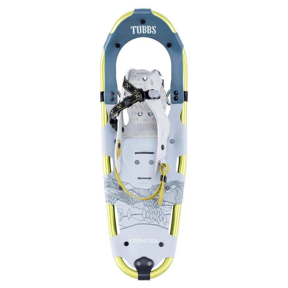 Tubbs Snowshoes Men's Frontier Trail Walking Snowshoes, Light Grey/Citron, 30 in.