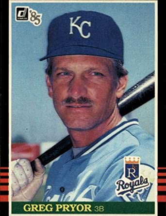 Amazoncom 1985 Donruss Baseball Card 277 Greg Pryor
