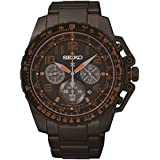 Mens Seiko Prospex Chronograph Solar Powered Watch SSC277P9