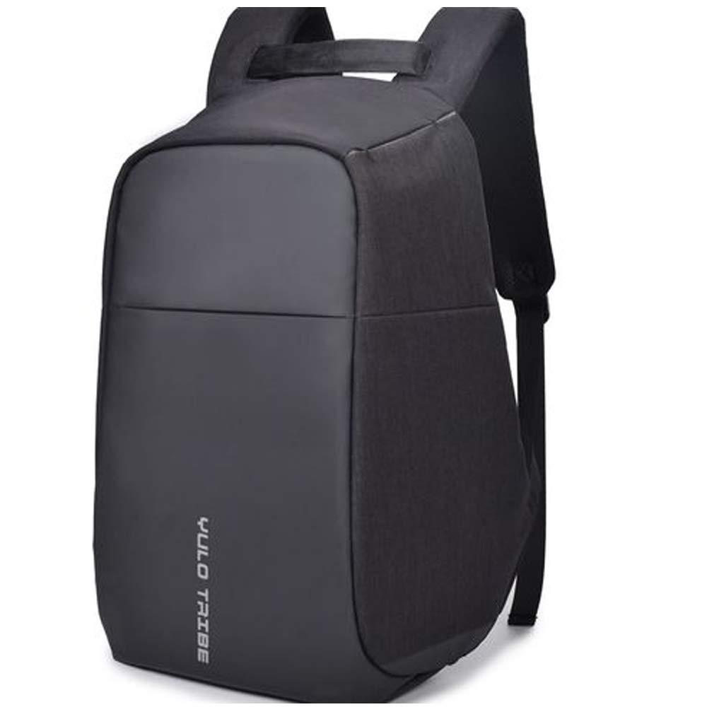 盗難防止バッグ 15.6インチ 多機能コンピュータバックパック USB充電バッグ ビジネス レジャー 旅行 バックパック 男女兼用 ブラック SE-29  ブラック B07NQJN5YJ