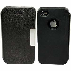Avcibase 4260344984473 carcasa para Apple iPhone 4/4S negro