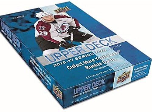 2016/17 Upper Deck Series 2 NHL Hockey HOBBY box (24 pk) (2016 17 Upper Deck Series 2 Hockey)